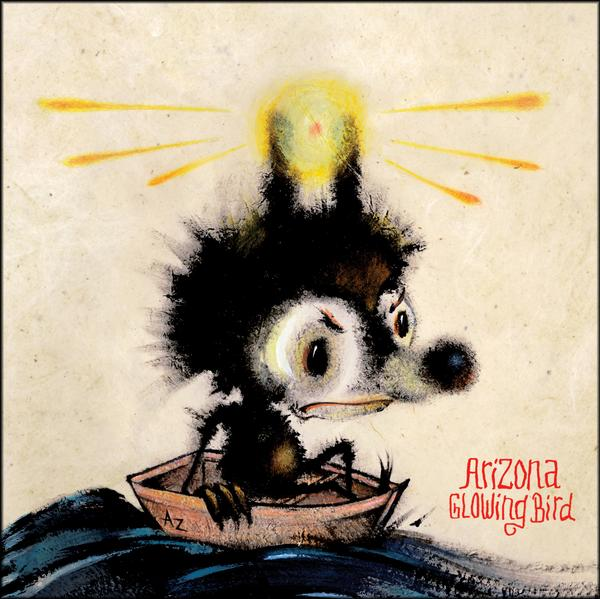 Cover Art for Arizona The Glowing Bird