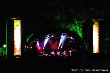 Stage at Green Man 2007