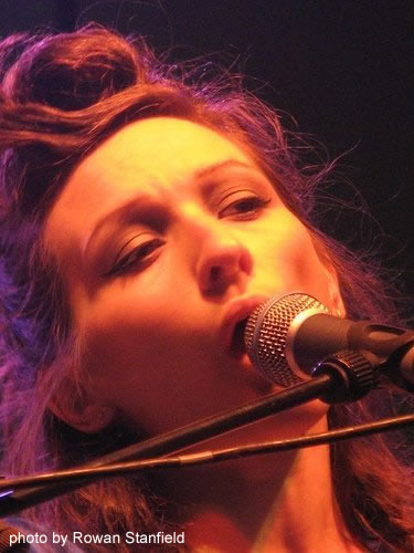 My Brightest Diamond onstage at the 2007 Green Man Festival