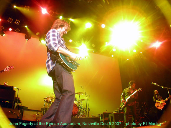 John Fogerty at the Ryman Auditorium in Nashville, TN Dec. 5 2007