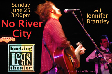 No River City is coming to Barking Legs sunday, June 25th